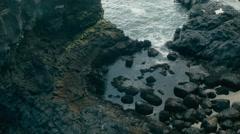 Beautiful Coastline of THE SNÆFELLSNES PENINSULA, ICELAND Stock Footage