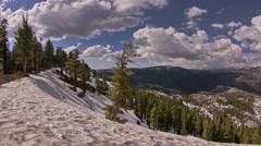 Yosemite National Park Nature, Landscape Hyperlapse - Motion Timelapse Stock Footage