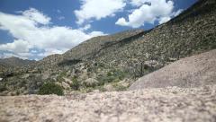 Timelapse of Southwestern Landscape - stock footage