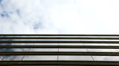 Business office horizon with copy space Stock Footage