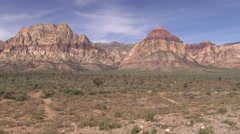 Hills of Red Rock Canyon Stock Footage