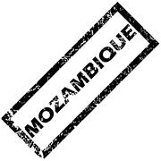 MOZAMBIQUE rubber stamp - stock illustration