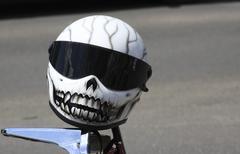 Helmet, Sarajevo - stock photo