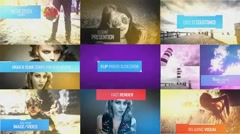Flip Photo Slideshow Stock After Effects