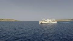 Gozo ferry  Malta Stock Footage