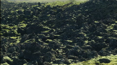 Epic Dynamic Stones in ICELAND Stock Footage