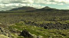 Stock Video Footage of Desolate Landscape ICELAND