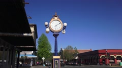 Anacortes, Pacific Northwest time piece Stock Footage