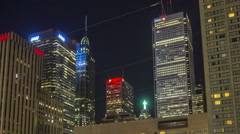 Hyperlapse / Timelapse downtown Toronto Stock Footage