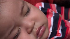 Sleeping Baby, Infant, Asleep Stock Footage