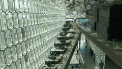Harpa Interior in ICELAND Stock Footage