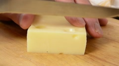 Swiss Cheese - stock footage