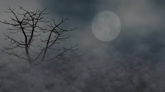 Spooky night Stock Footage