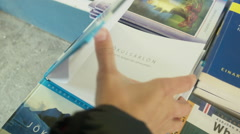 A Picture Book of the Jokulsarlon Lagoon Stock Footage