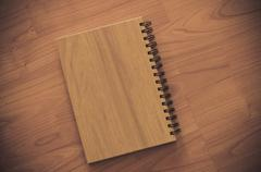 Book on wood Stock Photos
