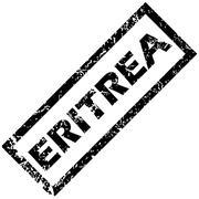 ERITREA stamp - stock illustration