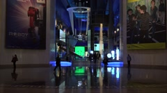 Interiors of the Museum of Science and Industry. - stock footage