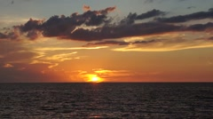 Time Lapse Sunset Stock Footage - stock footage