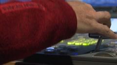 Stock Footage Live Broadcast TV Studio Production Stock Footage