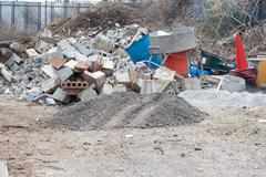 Dumping place Stock Photos