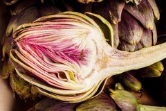 artichokes - stock photo