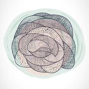 Abstract  shape. Stock Illustration