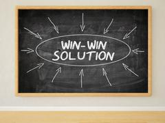 Win-Win Solution - stock illustration