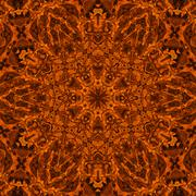 Fire concentric pattern Stock Illustration