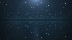 Space background for titles Stock Footage