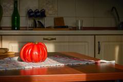 Beef Heart Tomato - stock photo