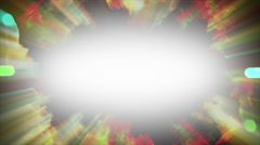 Beautiful Particles in 4K. Seamless loop. Stock Footage