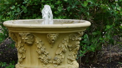 Water Fountain Stock Footage
