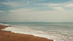 Beautiful sea view at sunny summer day  Stock Footage