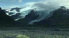 Vatnajökull Glacier in ICELAND Stock Footage