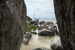 Famous The Baths on Virgin Gorda, British Virgin Islands Kuvituskuvat
