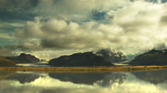 Dynamic Mountains of ICELAND Stock Footage