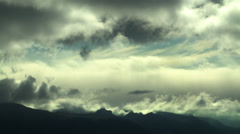 Dramatic Cloud Formations in ICELAND Stock Footage