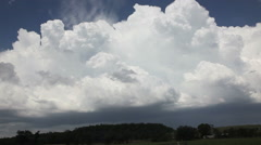 Time-lapse Major Supercell Outbreak Stock Footage