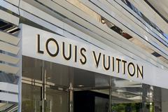 Louis Vuitton Retail Store Exterior Stock Photos