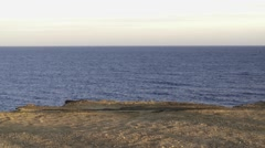 Ocean Cliffs Montauk NY Stock Footage