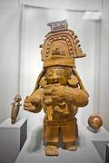 Exhibition from Cultural Center Museum in Manta, Ecuador Stock Photos