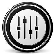 Adjustment icon Stock Illustration