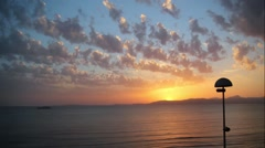 Mallorca Spain Sunset Balearic island timelapse 1 Stock Footage