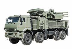 Air defense missile-gun complex Stock Photos