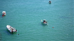 Summer holidays and turquoise sea Stock Footage