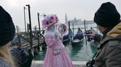 Stock Video Footage of In anticipation of the rising of the Piazza San Marco.