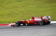 Formula 1. Sepang. April 2010 Kuvituskuvat
