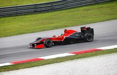 Formula 1. Sepang. April 2010 - stock photo