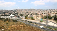 Nazareth Cityscape Stock Footage