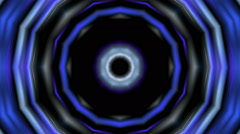 Abstract blue tunel Stock Footage
